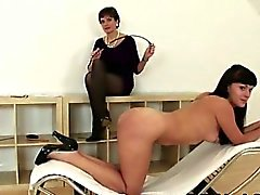 Lady Sonia spanking hot slut
