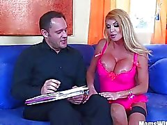Housewife Taylor Wane Gigantic Boobs Fucked