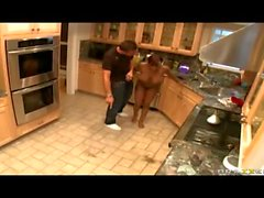 Jada Fire analyzed in the kitchen