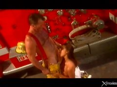 Tera Patrick blowjob for the fireman