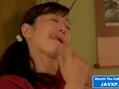 Bitchy Japanese Mom Fucks Her Stepson