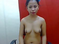 very cute filipina girl with beautiful boobs and nipples