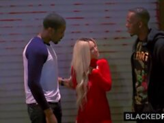 'BLACKEDRAW Petite Blonde gets a double dose of BBC's'