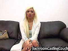 Hot Blonde Asian Assfucked and Creampie