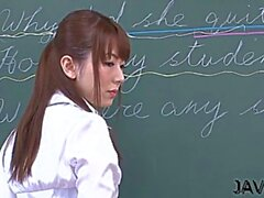 classy yui hatano gets filled with prick