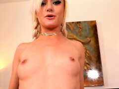 Morgan Rain in pigtails gives an epic POV Blowjob - by