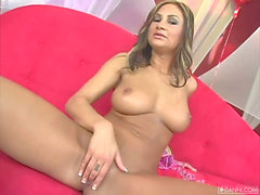 Amy Reid's best masturbation gig ever! super hot