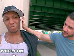 GAYWIRE - Miami Thug Gets porked In Public By Dean Monroe