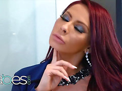 honeys - thick tit superstar Madison Ivy pays handyman to fix her pipes