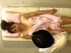 Lovely Asian girls enjoy a relaxing massage and a few speci