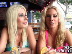 point of view deep throat with Sandy and Puma Swede