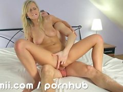 Marry Queen fucked deep and cums hard