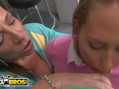 'BANGBROS - Stepmom Threesome With Sara Jay, Carter Cruise, and Peter Green'