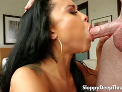 Sloppy Head Compilation - Mia Austin, Heather Vahn, Kaylani Lei and Carter Cruise