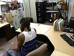 Black BF let his GF to fuck the pawn guy to earn money