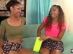 Black Lesbians Decide To Play With Each Other