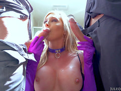 intimate Phantasies of Samantha Saint [ALL oral jobs & CUMSHOTS]