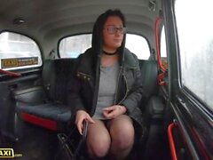 Fake Taxi Glasses Babe Klaudia Diamond Cheats on Hubby