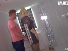 'Reife Swinger - Mariella Sun Big Ass German Newbie Fucked Hard By Horny Guy'