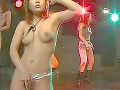 sexy japan disco striptease gogo dance