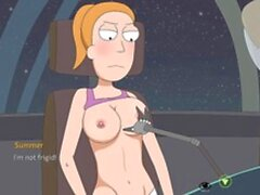 Rick And Morty - A Way Back Home Part 14 - fuck-a-thon with Tricia and Summer