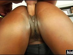 Jada Fire gets a cream pie