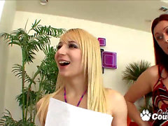 Karlie Montana and Ashley Jane Taste Their tastey honeypot juices