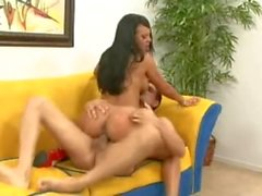 Latina slut pounded by big dick