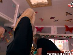 german stupid blonde milf hooker pick up