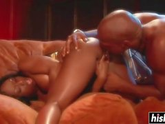 Jada Fire likes his big boner