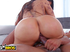 BANGBROS - massive caboose Latina Lela Star Fucked, Gets Cum On cunt