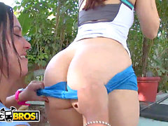 BANGBROS - Linda Gapes & Mariah Milano Get Their meaty arses nailed