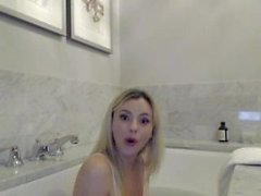 Bree Olson Bath Time