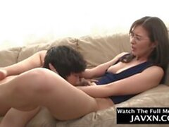 hot japanese mom and shy stepson clip