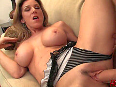 cool MILF Kayla takes Biggest white salami!